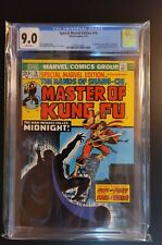Special Marvel Edition #16 CGC 9.0 SHANG-CHI 2nd 1st Appearance Midnight Key 🔥