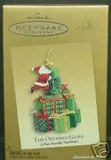 The Opening Game - Hallmark Club Exclusive Ornament MIP  2005 **HARD TO FIND**