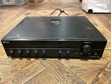 TOA A-2240 100v PA mixer amplifier 240W 3mic 2aux (like Extron Monacor Adastra)