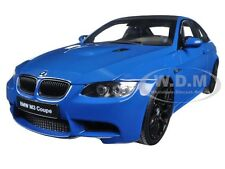 BMW M3 (E92) LAGUNA SECA BLUE 1/18 DIECAST MODEL CAR BY KYOSHO 08734