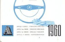 Lancia Appia 3rd Series Estate Lusso Coupe Zagato multi-language sales brochure