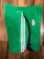 MEXICO NATIONAL TEAM 2007 FOOTBALL SOCCER SHORTS FORMOTION ADIDAS ADULT SIZE M