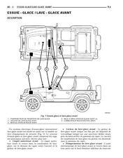 manuel atelier entretien réparation technique maintenance Jeep Wrangler TJ - Fr