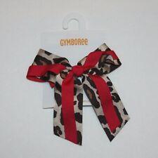 Gymboree Ready Set Go Leopard Bow Hair Clip 3 4 5 6 7 8 9 10 11 12 NWT