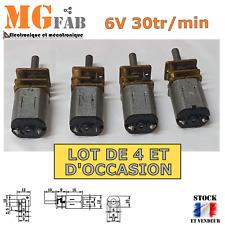 4PCS Motoréducteur N20 GA12 6V DC 30rpm d'occasion | Moteur Arduino robot micro