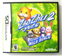 Zhu Zhu Pets 2: Featuring the Wild Bunch (Nintendo DS, 2010) Video Game Complete