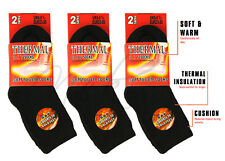 Childrens Boys Girls Thermal Thick Boot Socks Teens Kids Winter Warm 2-4-6 Pack