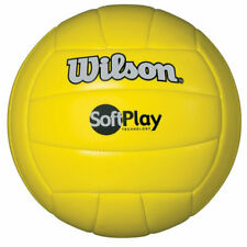 Wilson Official Size and Weight Soft Play Outdoor Volleyball, Yellow