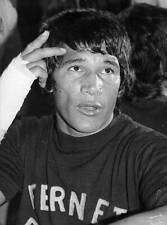 Large Old Boxing Photo Carlos Monzon The World Boxing Champion