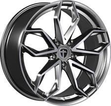 4x Tomason TN22 8,5x20 5x112 ET45 ML72,6 Dark hyperblack polished VW Audi Seat