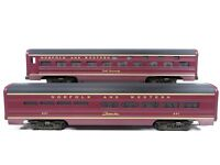 MTH MT-6114 60' Aluminum Sleeper/Diner Set Norfolk & Western Painted LN