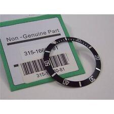 Inserto ghiera Rolex Sea Dweller nera lunetta 16600 16660 Bezel insert rlx watch