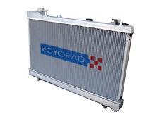 Koyo HH060642 48mm HH Series Racing Aluminum Radiator 86-88 Mazda RX-7 FC
