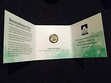2014 Green $2 'C' Mintmark Coloured Uncirculated Coin – Remembrance Day Folder