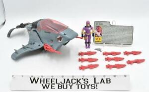 Cobra Sea Ray 100% Complete 1987 GI Joe Cobra ARAH Hasbro Action Figure Vehicle
