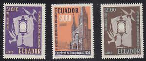Ecuador - 1958 - SC C327-29 - LH - Complete set