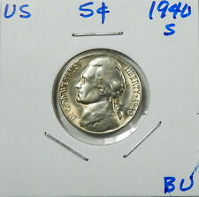 1940-S  Jefferson Nickel  Uncirculated  Better Date