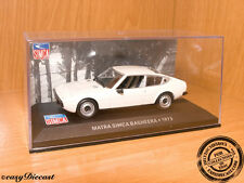 MATRA SIMCA BAGHEERA WHITE 1:43 1975 MINT!!!