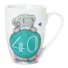 Me to You 40th Birthday Gift Boxed Mug & '40' Number Caption - Tatty Teddy Bear
