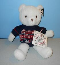 "16"" MLB Cleveland Indians Authentic 1997 All-Star Game Teddy Bear w/ Sweater"