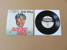 """THE FALL The Man Who's Head Expanded ROUGH TRADE 7"""" ORIGINAL UK PRESSING RT133"""