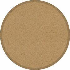 Fußmatte rund beige Matte Teppichmatte Teppich waschbar Schmutzmatte Ø 65-95 cm