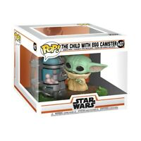 THE CHILD WITH EGG CANISTER FUNKO POP STAR WARS MANDALORIAN #407 PRE ORDER