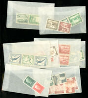 Germany Tete Beche Stamp Pairs Selection in Glassines all Mint NH!