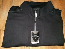 Brand New Black Callaway Quarter Zip Pull-Over (size XXXL) (with tags)