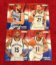 Grizzlies 2014-15 Panini Prizm <Prizms> Red White and Blue Pulsar Lot: Carter 🏀