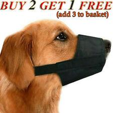 New listing Adjustable Dog Safe Muzzle Anti Chewing Barking Biting Muzzle Small Medium Large