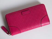 424d63583676d GUCCI Damen Geldbörse Portemonnaie Leder Farbe  pink Neu