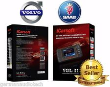 VOLVO OBD2 NEW DIAGNOSTIC SCANNER TOOL ERASE FAULT CODES #1 BEST iCARSOFT VOLII