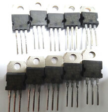 10 x bul38d Transistor NPN BIPOLAR 450v 5a 80w TO220 con diodo ST bul38db