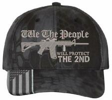 We The People WILL PROTECT THE 2ND Hat- Kryptek or Highlander Adjustable Hat