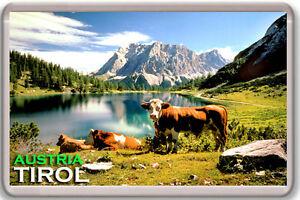 Tirol Österreich MOD2 Fridge Magnet Souvenir Magnet Kühlschrank