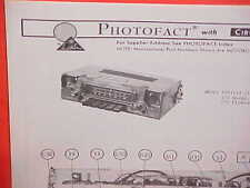 1975 DODGE DART SWINGER PLYMOUTH VALIANT DUSTER SCAMP AM-FM RADIO SERVICE MANUAL