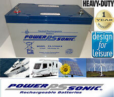 Powersonic 12v 100ah Battery for Car Audio System CCTV Alarm