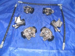 6 Wheel Cylinders & Brake Hoses EARLY 59 Plymouth NEW 1959