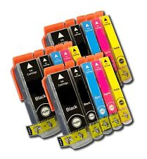 15 x SCHEGGIATO Cartucce Inkjet Compatible For Printer Canon IP4950, IP 4950
