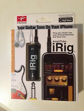 AMPLIFICATORE AMPLITUBE IRIG PER IPHONE 4,4S,IPAD1,2,3 IPOD.