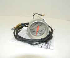"Autometer Ultra-Lite Mechanical Oil Temperature Gauge 2 5/8"" Silver Face EXC"