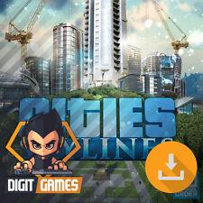 Cities Skylines - Steam Key / PC & Mac Game - Builder / Simulation [NO CD/DVD]