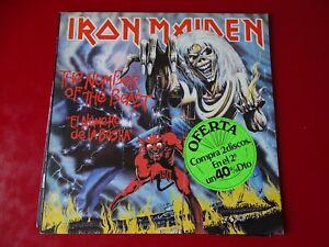 Iron Maiden : The Number of the beast / El numero de la bestia ..... Spain