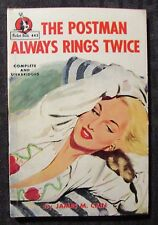 1934 THE POSTMAN ALWAYS RINGS TWICE by James Cain VG/FN Pocket 443 Paperback