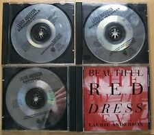 Laurie Anderson rarites and promos CD bundle
