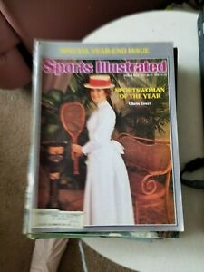 12/20/76 SPORTS ILLUSTRATED CHRIS EVERT SPORTSWOMAN OF THE YEAR DOUBLE ISSUE