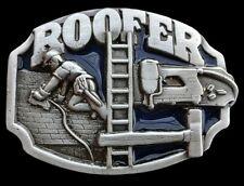 ROOFER WORKER CONSTRUCTION ROOF TOOLS BELT BUCKLE BOUCLE DE CEINTURE