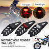 Universale Portatarga Fanale Faro Led Enduro Cross Motard Moto Dirt Quad