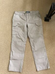 First Tactical Women's Tactix Tactical Pants Beige SIZE 14
